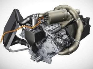 Гибридный двигатель на Порш