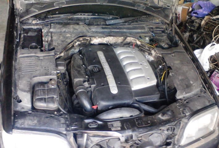 Mercedes W 140 dv