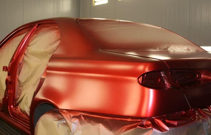 какой краской красят автомобили киа