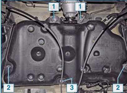 топливные баки на машину renault