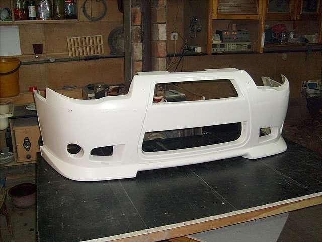Фото №23 - тюнинг переднего бампера ВАЗ 2110 своими руками