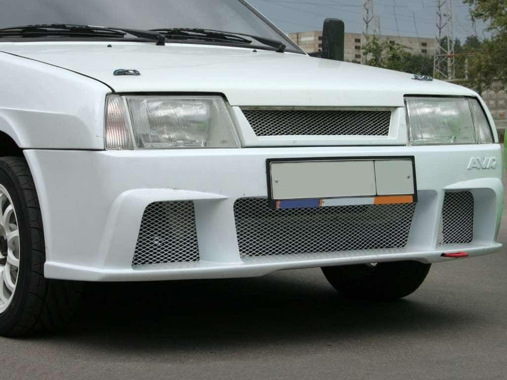 Тюнинг бампера ВАЗ 2109