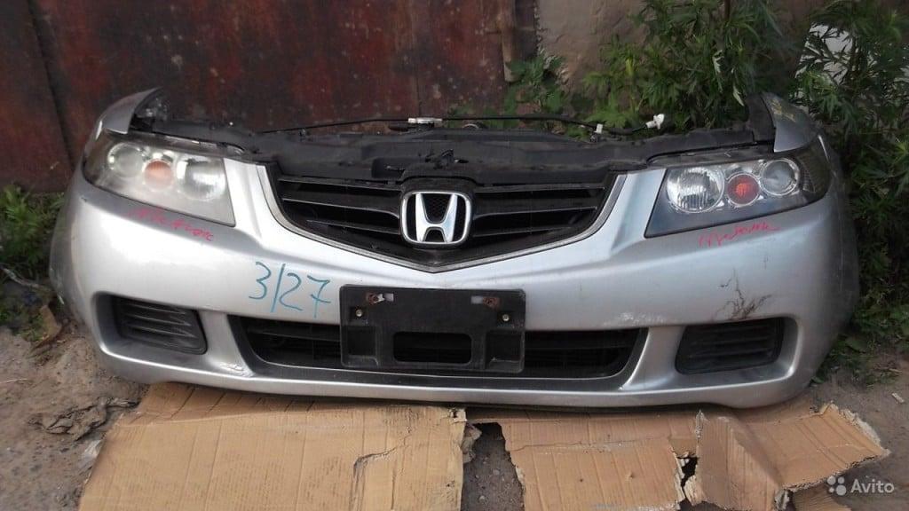 Демонтаж переднего бампера Хонда Аккорд 7