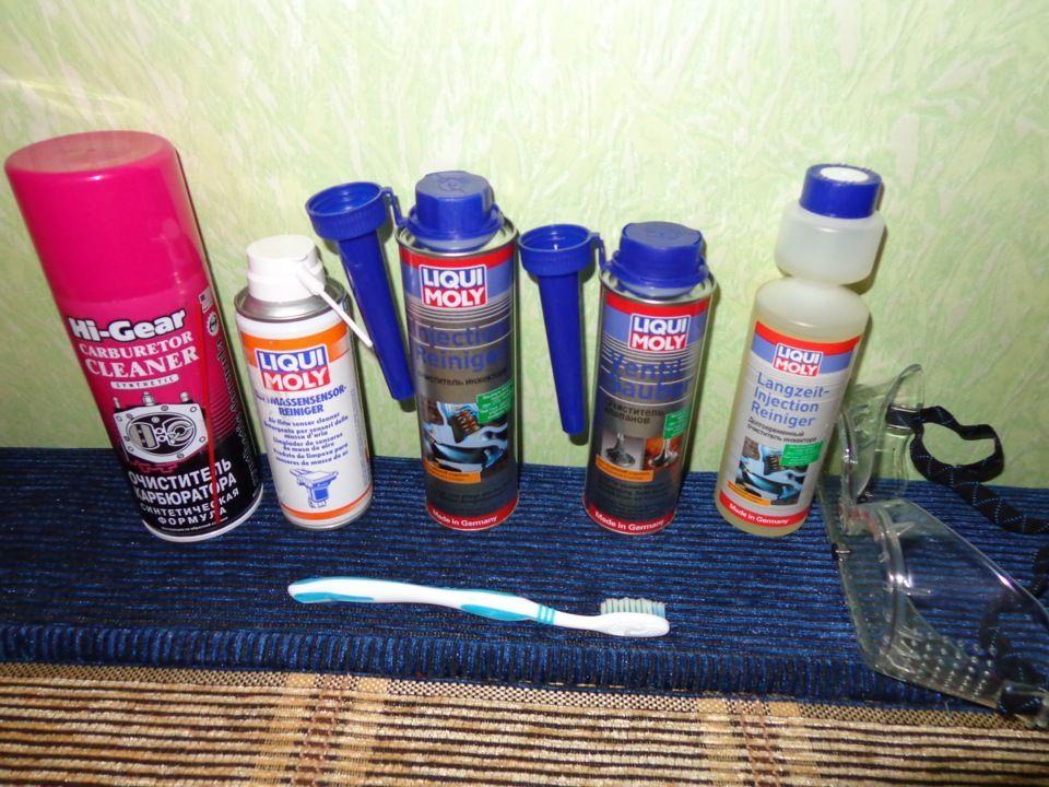 Жидкости для промывки инжекторов