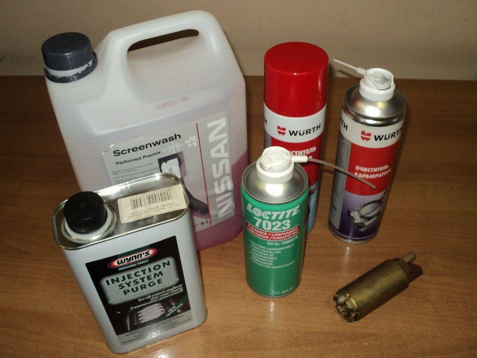 Средства для очистки форсунок