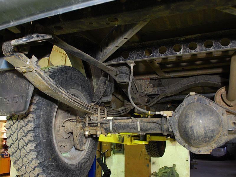 Подвеска УАЗ Патриот