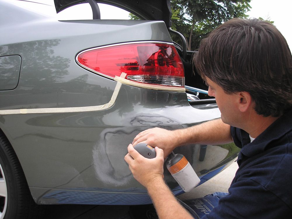 Как правильно покрасить бампер своими руками