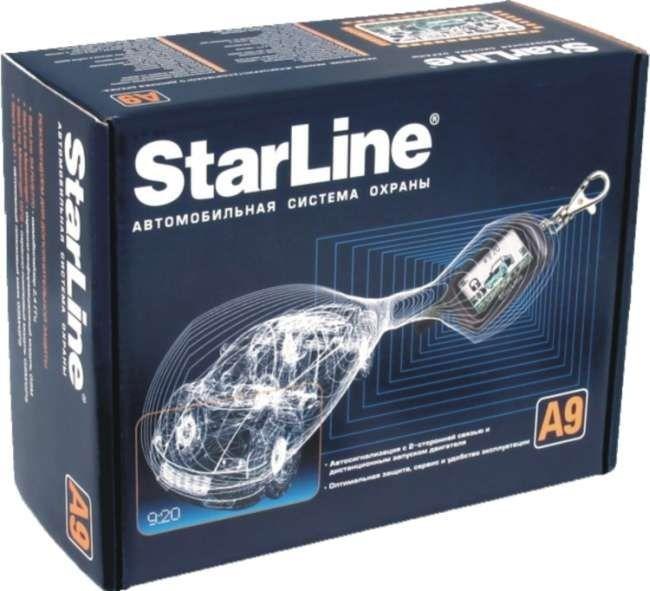 Сигнализация Старлайн А9