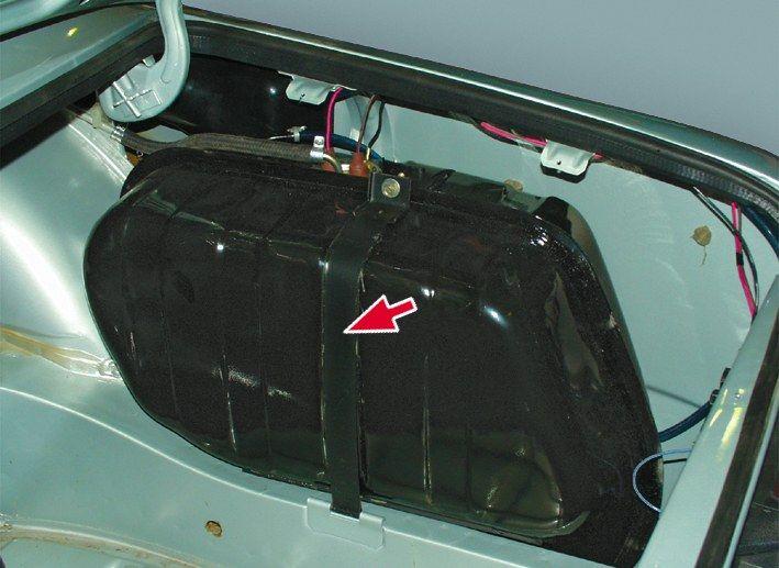Бензобак на ВАЗ 2107