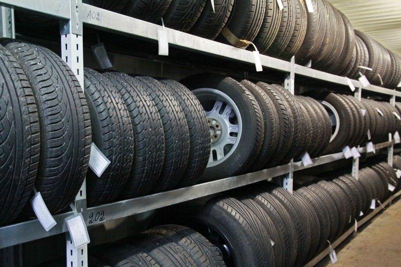 Хранение автомобильных шин