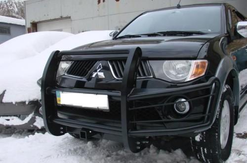 Силовой бампер на л-200 своими руками Lucky Car