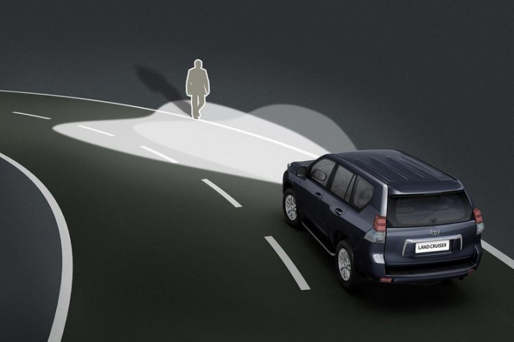 Адаптивная система AFLS автомобиля