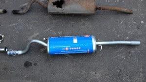 Глушитель ВАЗ 2106
