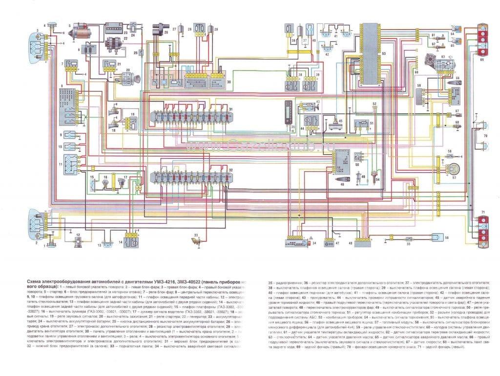 схема электропроводки киа рио