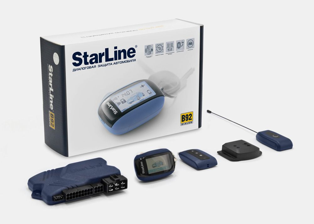 Сигнализации starline a92 dialog