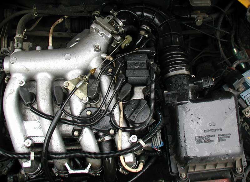 Система охлаждения ваз 21093 инжектор