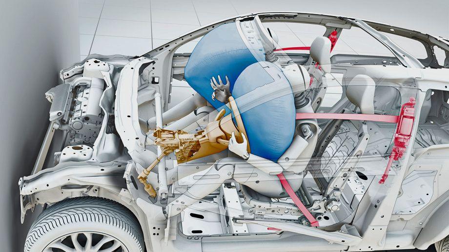 Система пассивной безопасности автомобиля