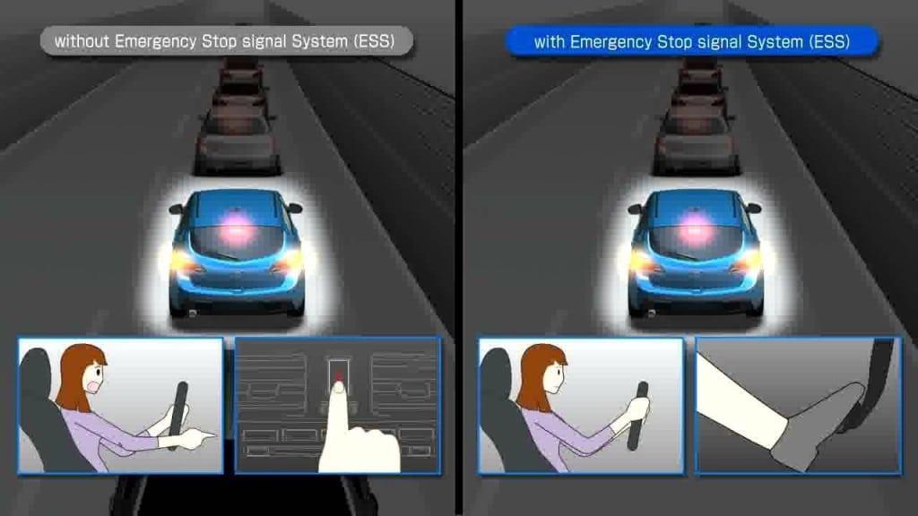 Система предупреждения водителей сзади
