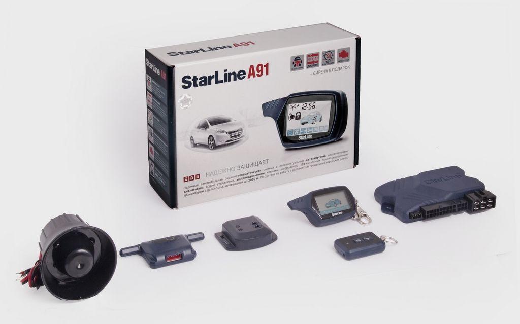 инструкция по эксплуатации автосигнализации starline а91 с автозапуском