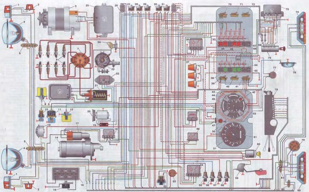 Зил 130 схема тормозной системы фото 699