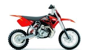 Мотоцикл с двухтактным двигателем
