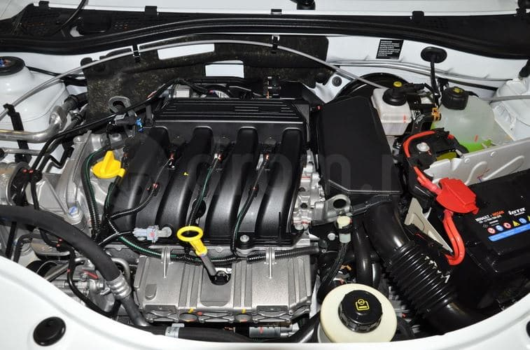 Бензиновый двигатель объемом 1.6
