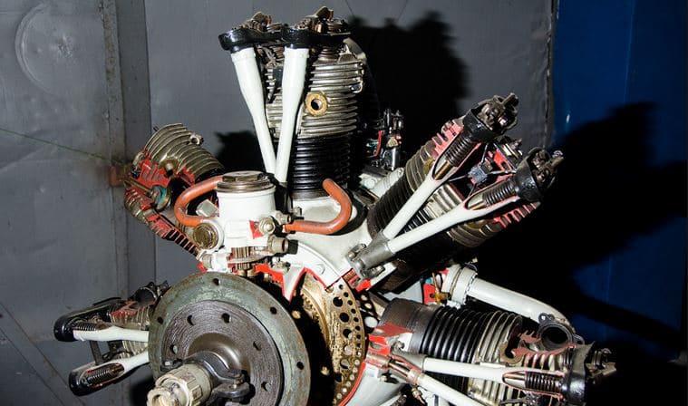 v образный двигатель для авиации
