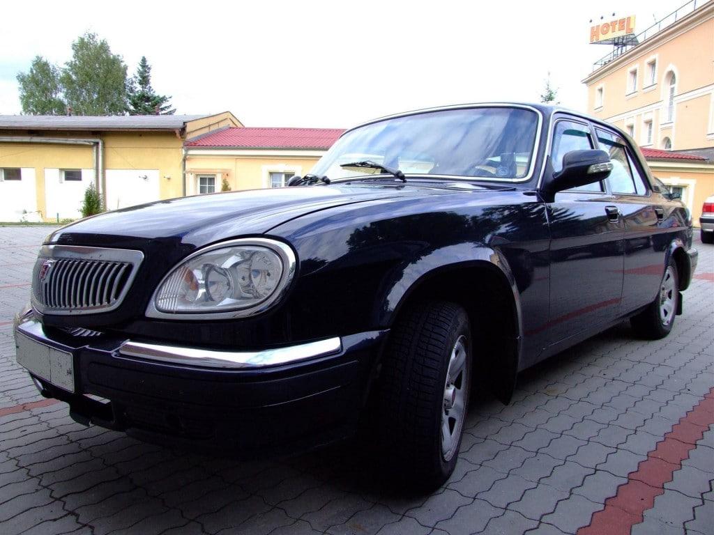 Новая ГАЗ 31105