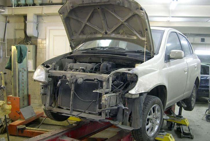Замена кузова автомобиля оформление