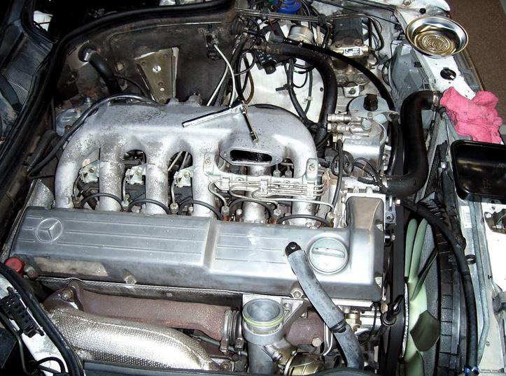 Двигатель Мерседеса w 124