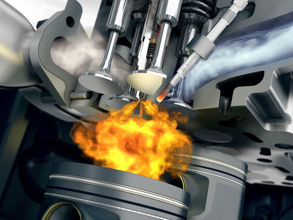 Работа системы впрыска топлива автомобиля