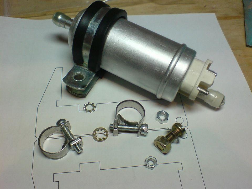 Механический топливный насос низкого давления