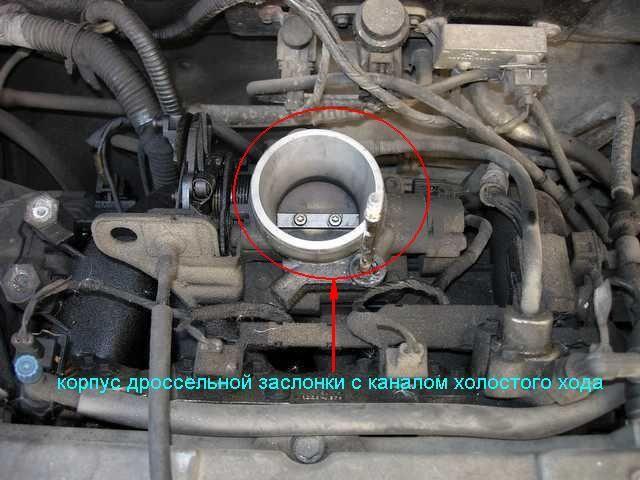 Форд Мондео схема дроссельной заслонки