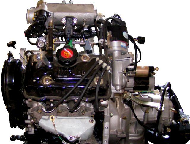 Двигатель инжекторного типа
