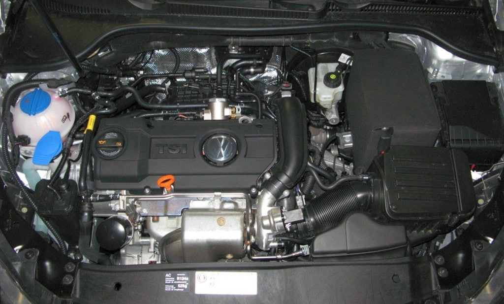 Двигатель Turbo Stratified Injection