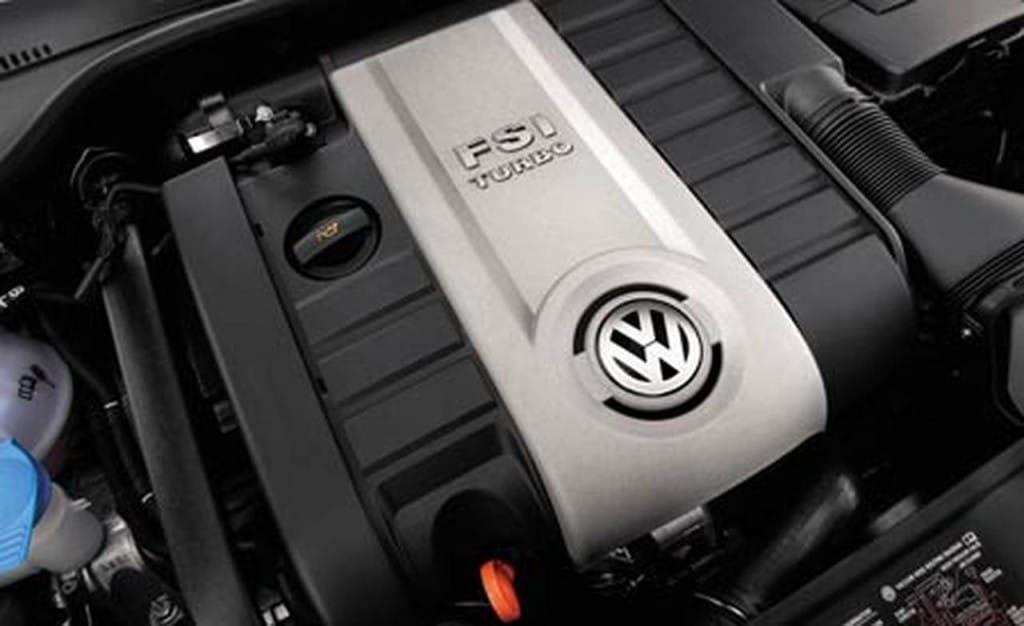 Двигатель с топливной системой FSI