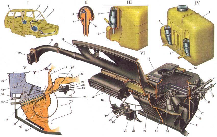 Механическое устройство омывателя