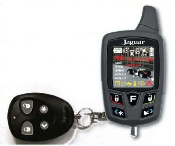 Пульт управления сигнализации Ягуар