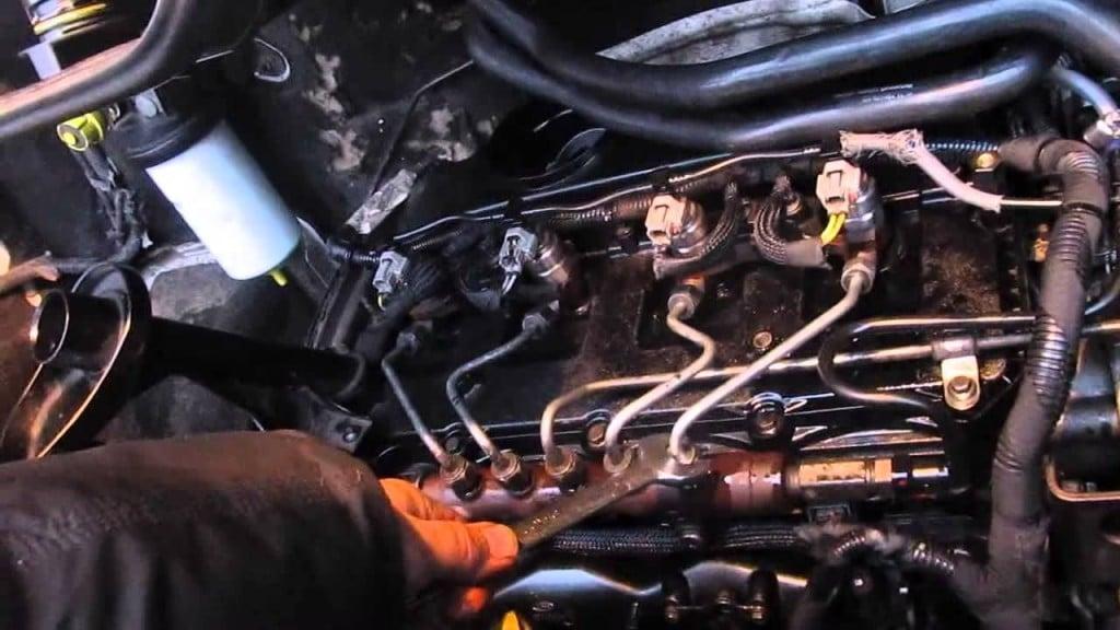 Замена форсунки на форд транзит 2,4