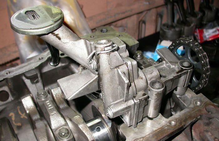 Система смазки на примере двигателя Д 160