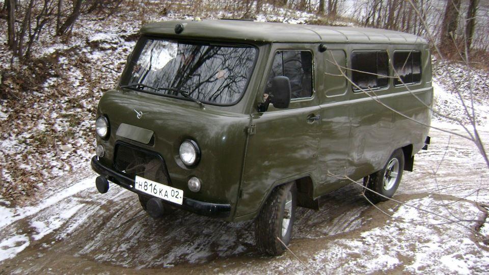 UAZ Buhanka 1 - Электросхема уаз 220695 04