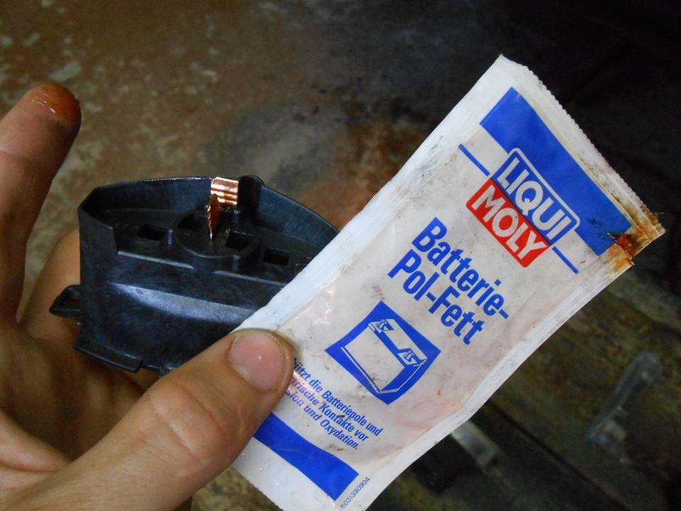 Смазка для контактов в автомобиле