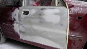 Покраска автомобиля КИА
