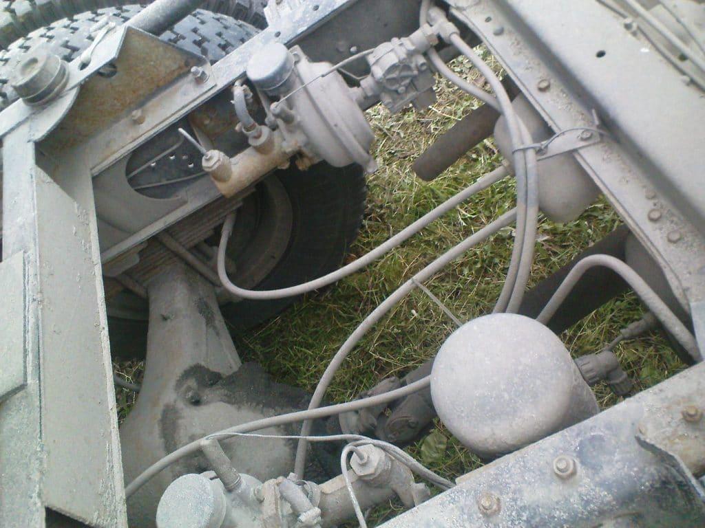 Тормозная система газ 53