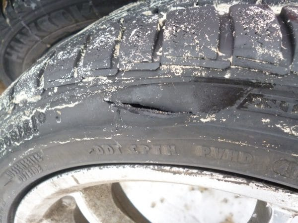 Порез шины