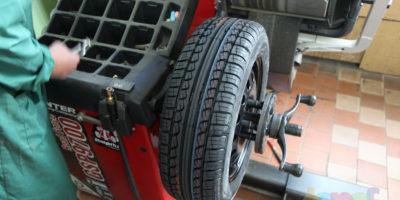Динамическая балансировка колес