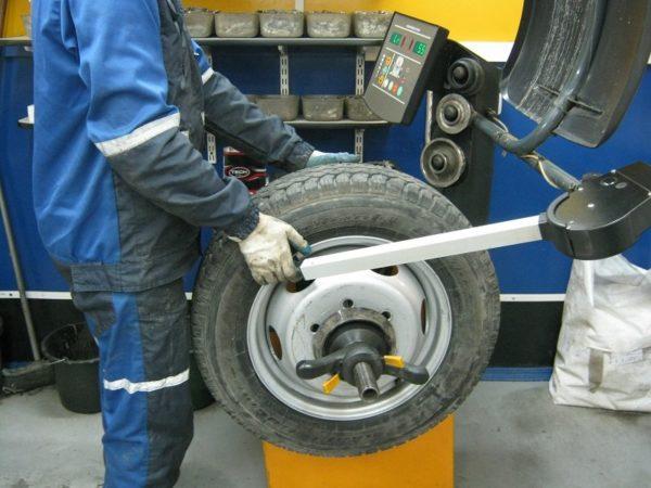 Статическая балансировка колес