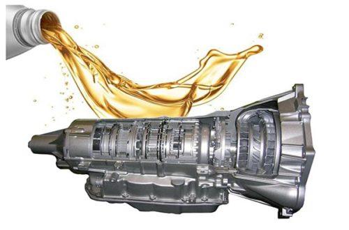 Замена масла в механической и автоматической коробке передач