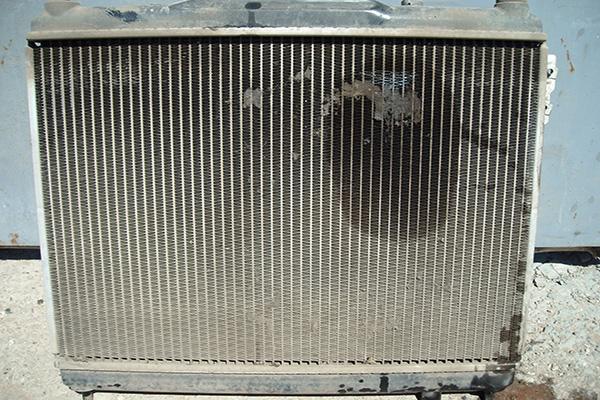 Радиатор потек