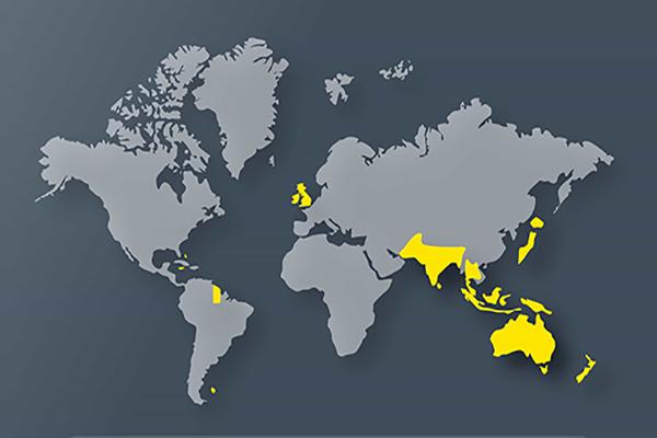 Страны мира с левосторонним движением автомобилей